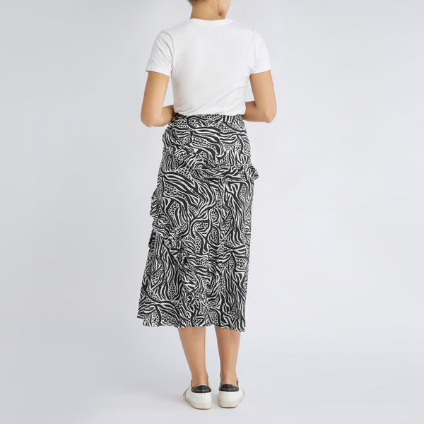 Eliza Skirt | Mixed Animal