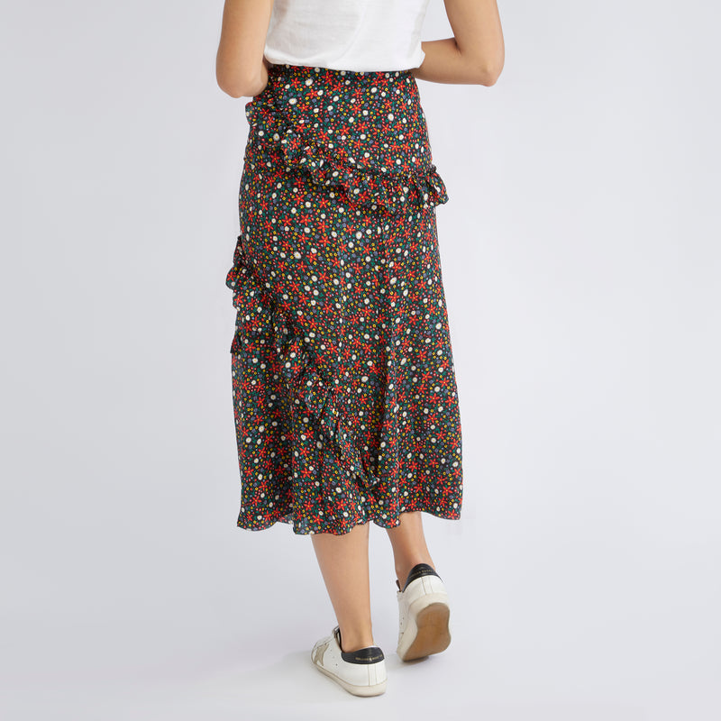 Eliza Skirt | Mixed Ditsy