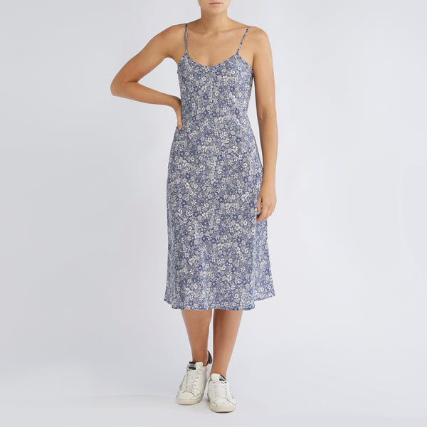 Adelle Dress | Linear Floral