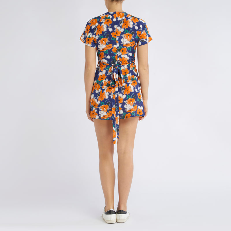 Gemma Dress | Painterly Floral