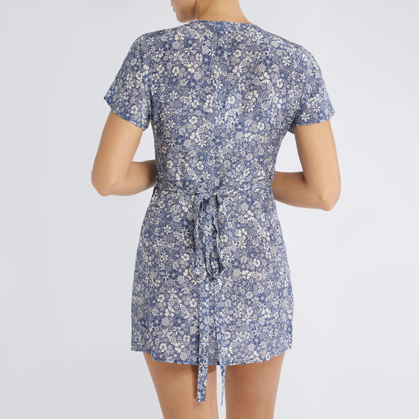 Gemma Dress | Linear Floral