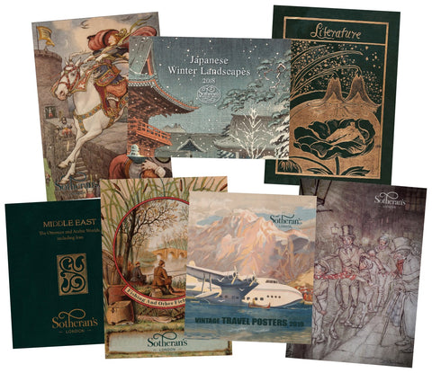 A selection of catalogues
