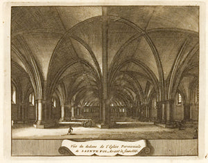 St. Foy (interior) before the Fire