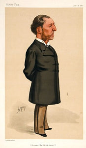 Lord Suffield. He created 'The Pall Mall Gazette