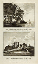 Load image into Gallery viewer, West Cowes Castle; Carisbrook Castle