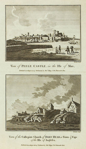 Peele Castle, Isle of Wight; Holyhead Church, Anglesea