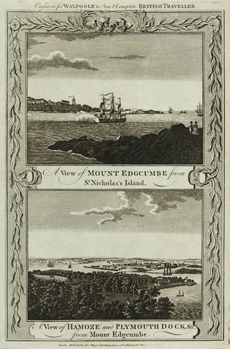 Mount Edgecumbe and Hamoze and Plymouth Dock