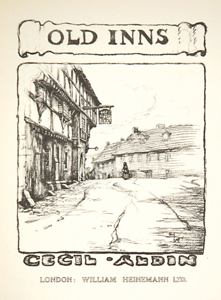 The New Inn, Gloucester. Title page
