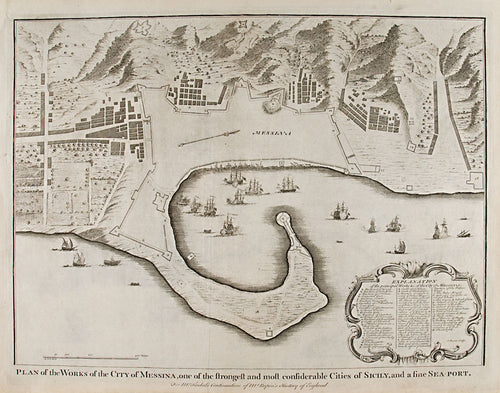 Plan of the Works of the City of Messina