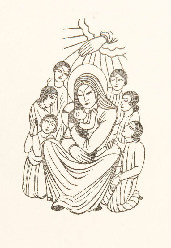Madonna and Child, with Children