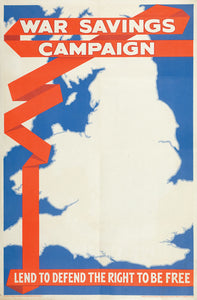 War saving campaign, lend to defend, the right to be free