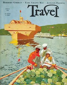 Travel, April 1932