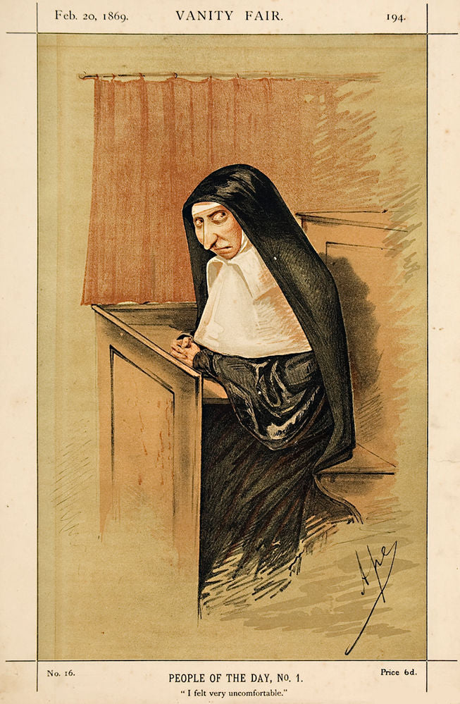 Mrs Star, Late Mother Superior of the Convent of Our Lady