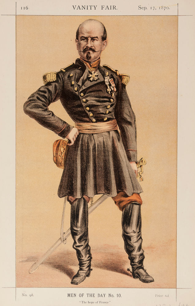 General Trochu. The hope of France