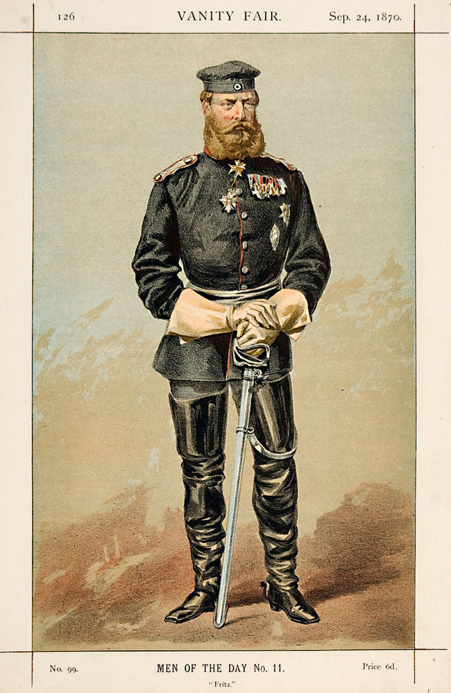 Crown Prince of Prussia. Fritz