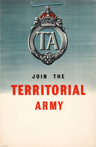 Join the Territorial Army