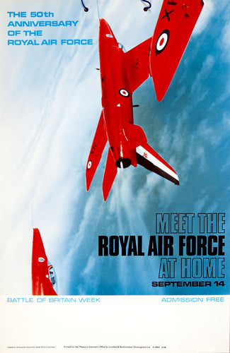 The 50th Anniversary of the Royal Air Force