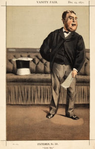 Mr Cavendish-Bentnick MP. Little Ben