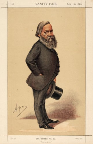Alexander J. Beresford-Hope MP. Batavian grace. Statesmen, No.63