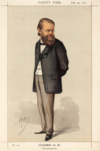 Edward Miall MP. The Nonconformist. Statesmen, No.89