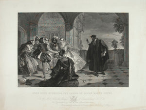 John Knox Reproving the Ladies of Queen Mary's Court
