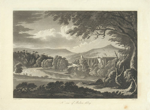 A View of Bolton Abbey
