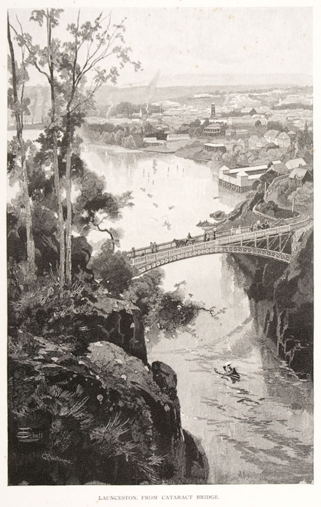 Launceston, from Cataract Bridge