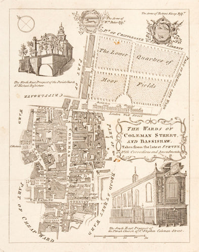 THE WARDS OF COLEMAN STREET AND BASSISHAW, Taken from the latest