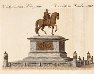 Equestrian Statue of Joseph II, before the Imperial Palace in Vienna