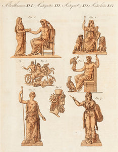 Greek and Roman Deities. (Antiquities. XVI