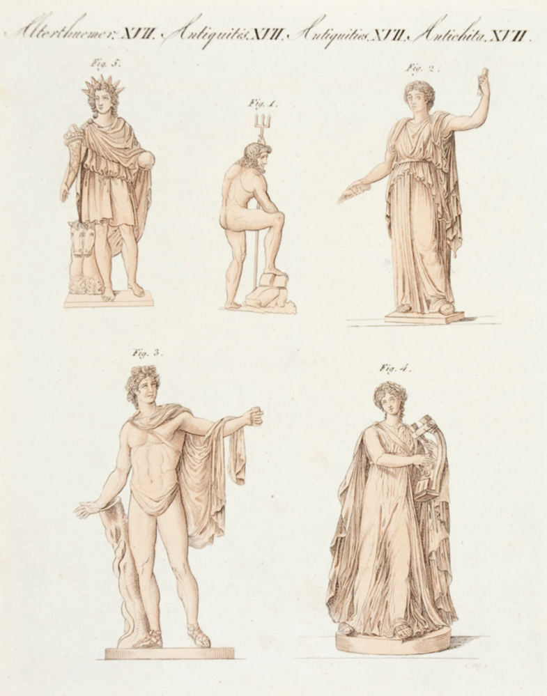 Greek and Roman Deities. (Antiquities. XVII