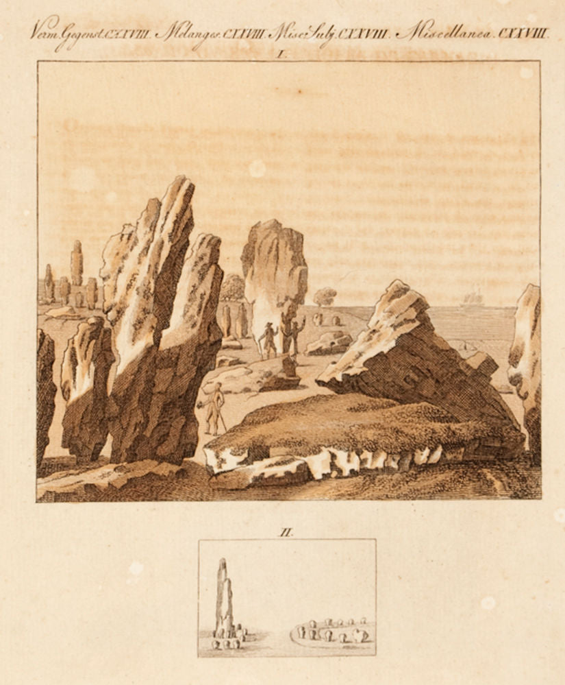 Celtick Monuments of Carnac. Miscellanea. CXXVIII
