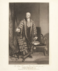 The Right Honourable William Wyndham Grenville, Lord Grenville, Chancellor of the