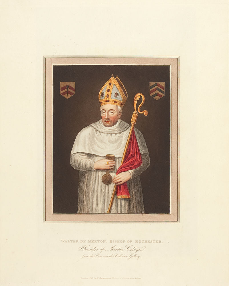 Walter De Merton, Bishop of Rochester, Founder of Merton College