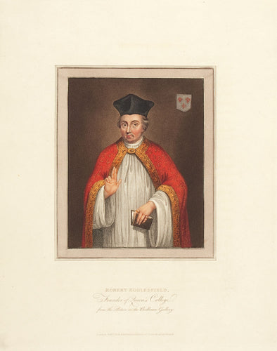 Robert Egglesfield, Founder of Queen's College