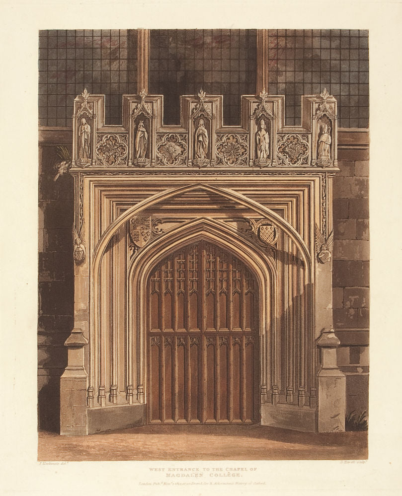 West Entrance to the Chapel of Magdalen College