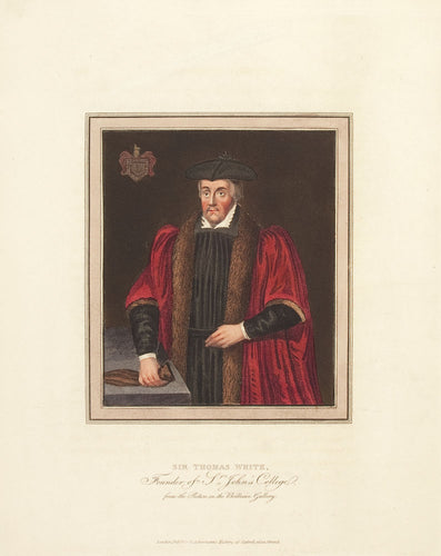 Sir Thomas White, Founder of St. John's College