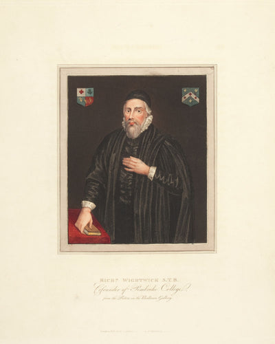 Richard Wightwick S.T.B. Cofounder of Pembroke College