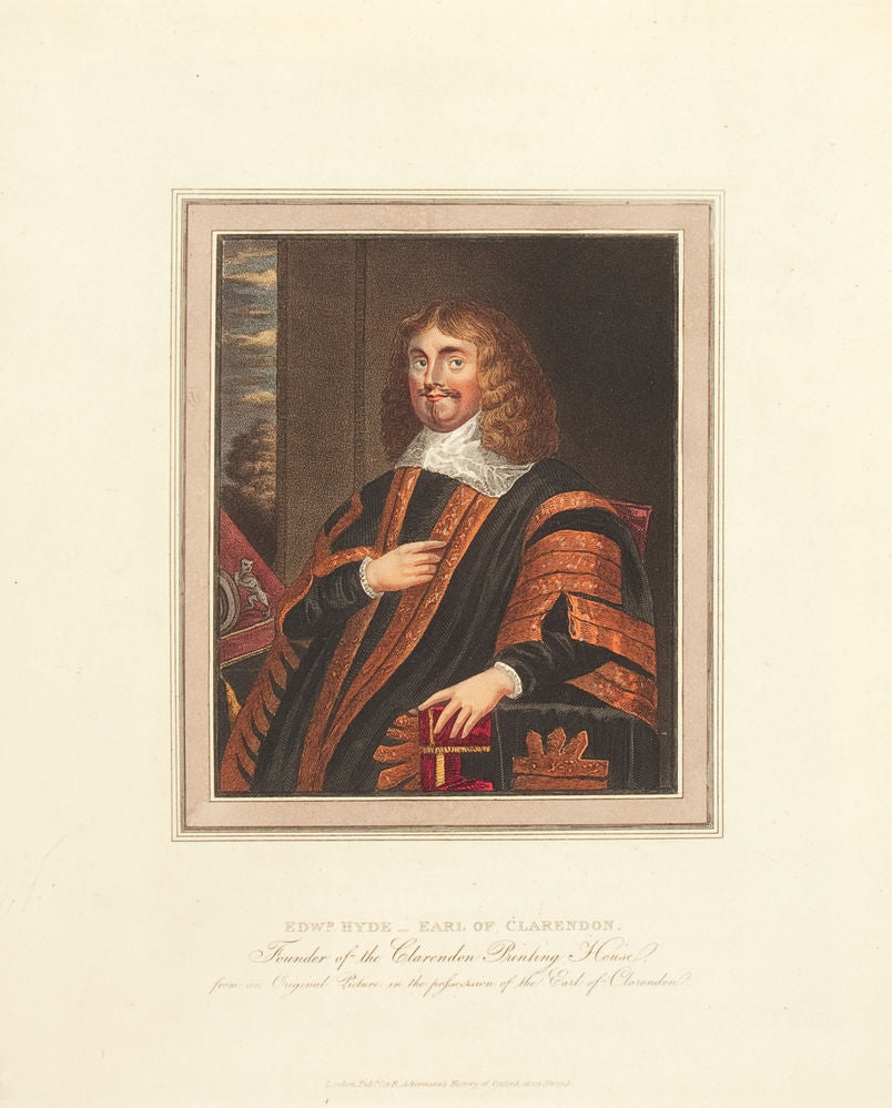 Edward Hyde - Earl of Clarendon, Founder of the Clarendon Printing House