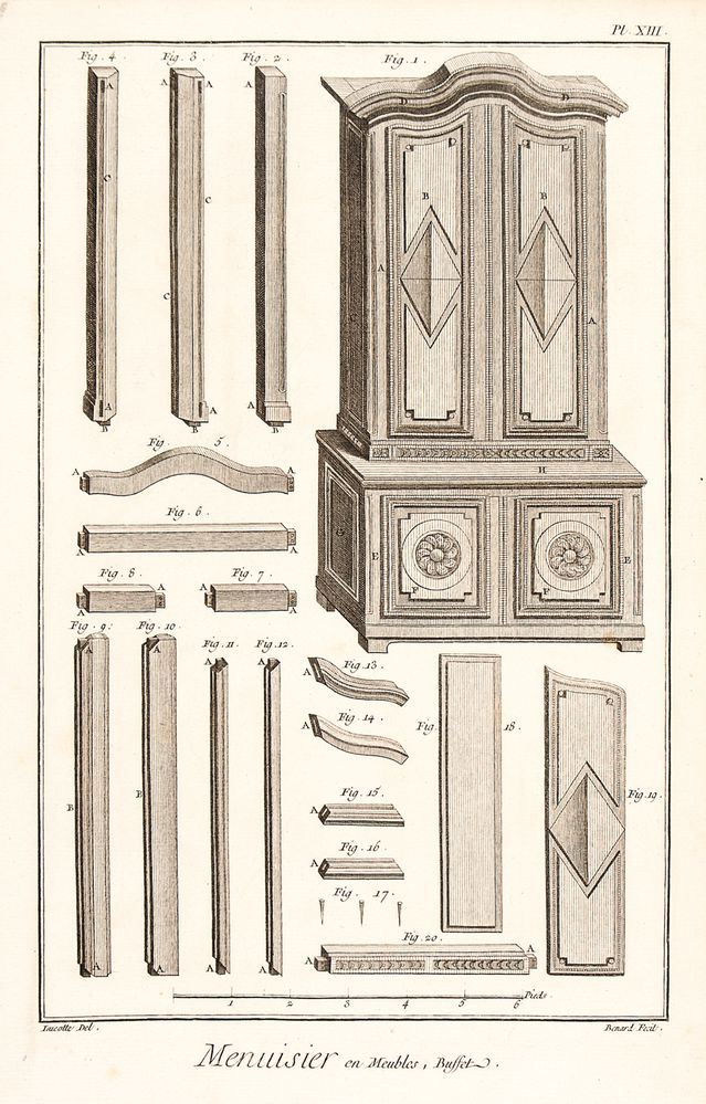 Menuisier en Meubles (Cabinet Making