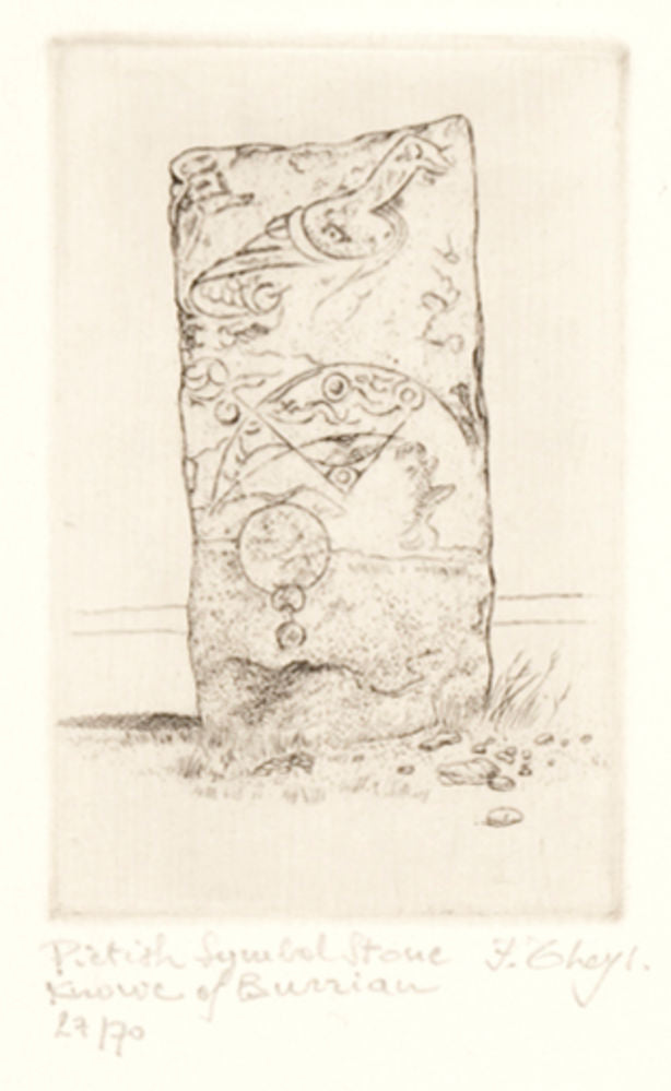 Pictish Symbol Stone, Knowe of Burrian