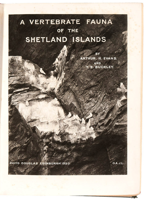 A Vertebrate Fauna of the Shetland Islands