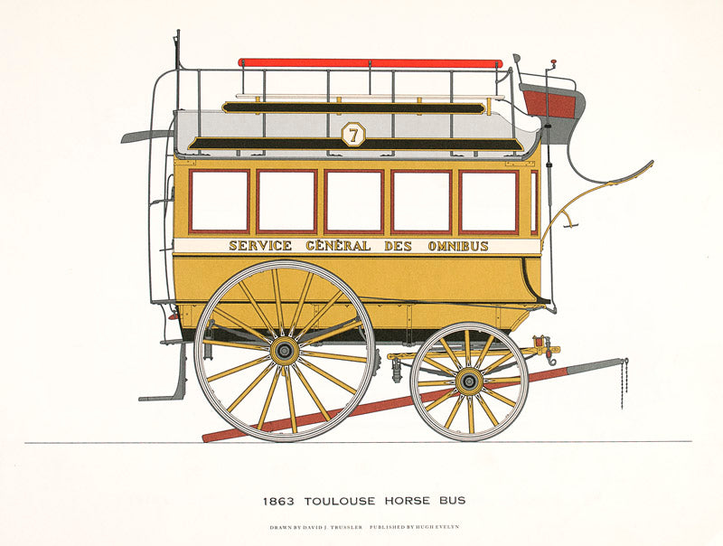 1863 Toulouse Horse Bus