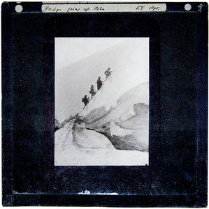 A Collection of 72 Black and White Alpine Slides