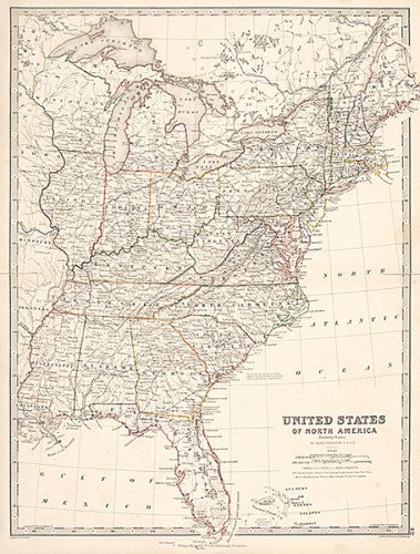 United States of North America. (Eastern States