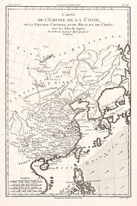 Carte De L'Empire De La Chine