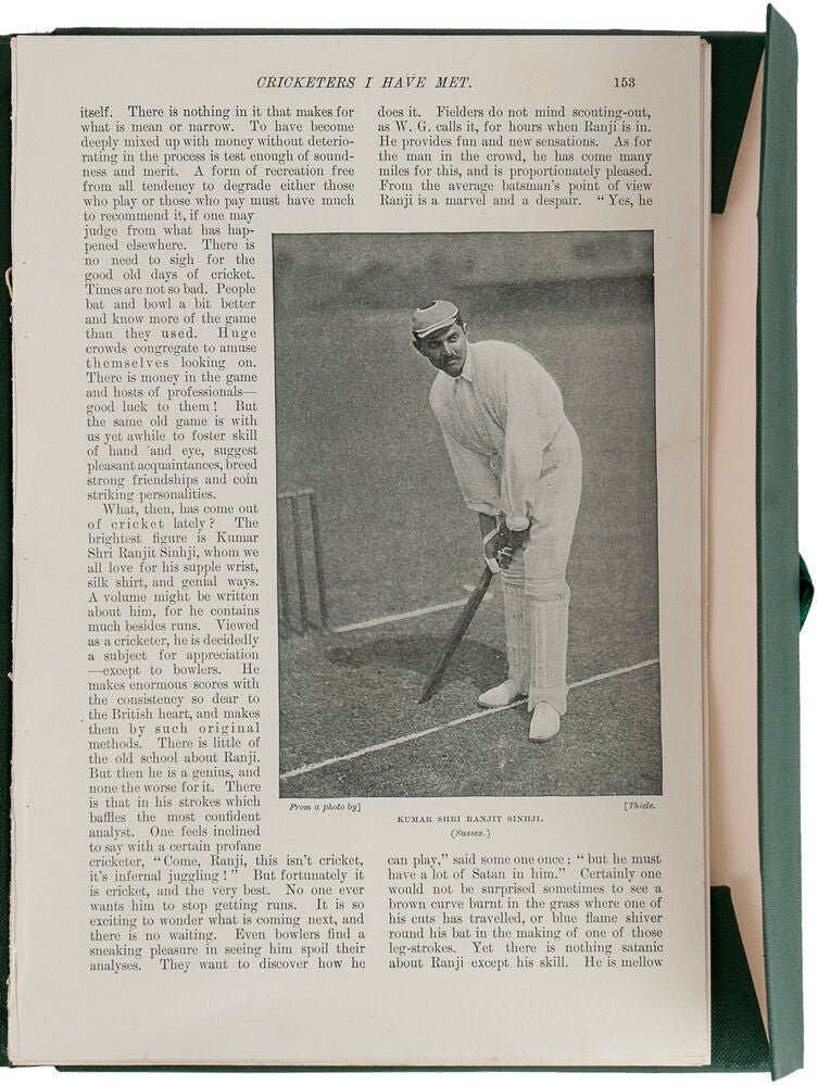 Cricketing Articles extracted from The Windsor Magazine 1897