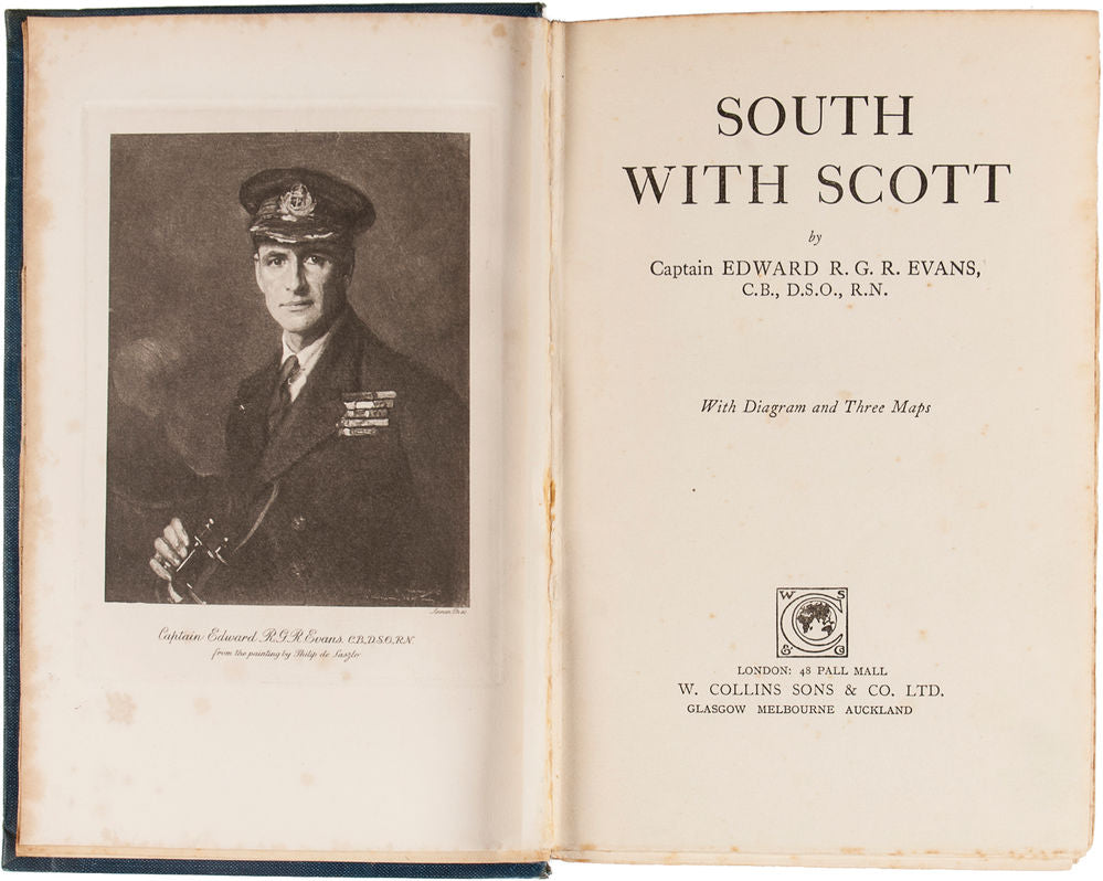 South With Scott … With Diagram and Three Maps