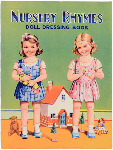 Nursery Rhymes Doll Dressing Book