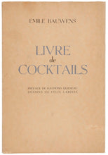 Load image into Gallery viewer, Livre de Cocktails